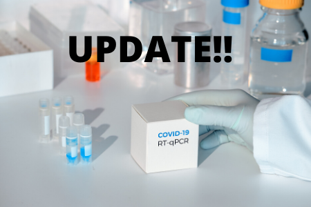 coronavirus update in a lab